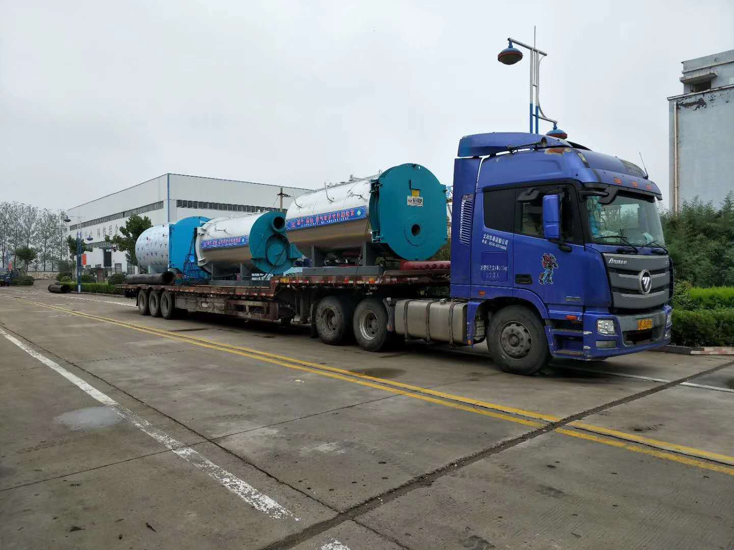 Yongxing Boiler delivery!