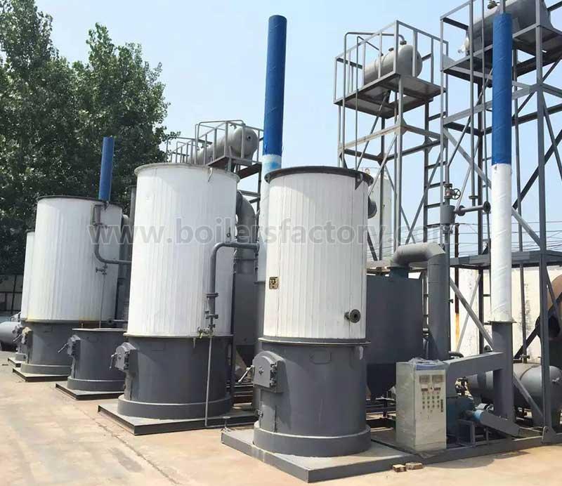 YGL Vertical Manually Solid Fuel Boiler