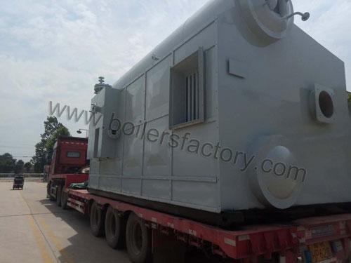 gas super heat steam boiler to Myanmar