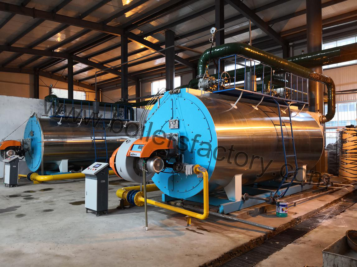 2 sets of 2t/h Gas Fired Steam Boiler are Finished for Installation in Fuji