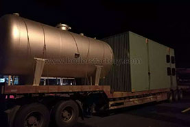 YY(Q)W Horizontal Oil / Gas Boiler