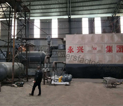 Thermal Oil Boiler Was Finished For Installation In Chile