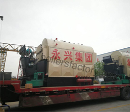 2 Sets Coal Fired Steam Boiler To Philippines