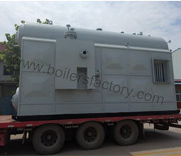 gas super heat steam boiler to Myanmar