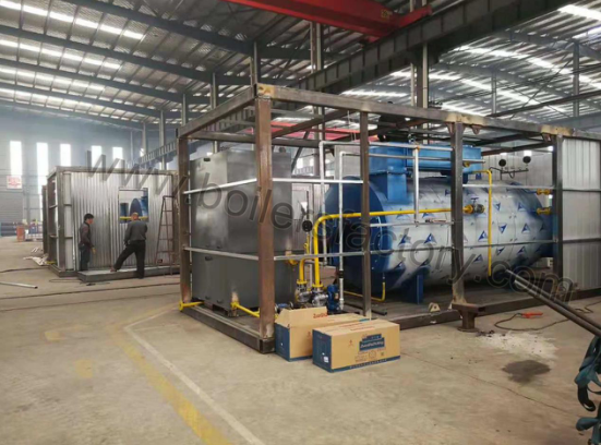 4 Sets of 2t/h Diesel Fired Steam Boiler Delivered to Thailand With Complete Assembly