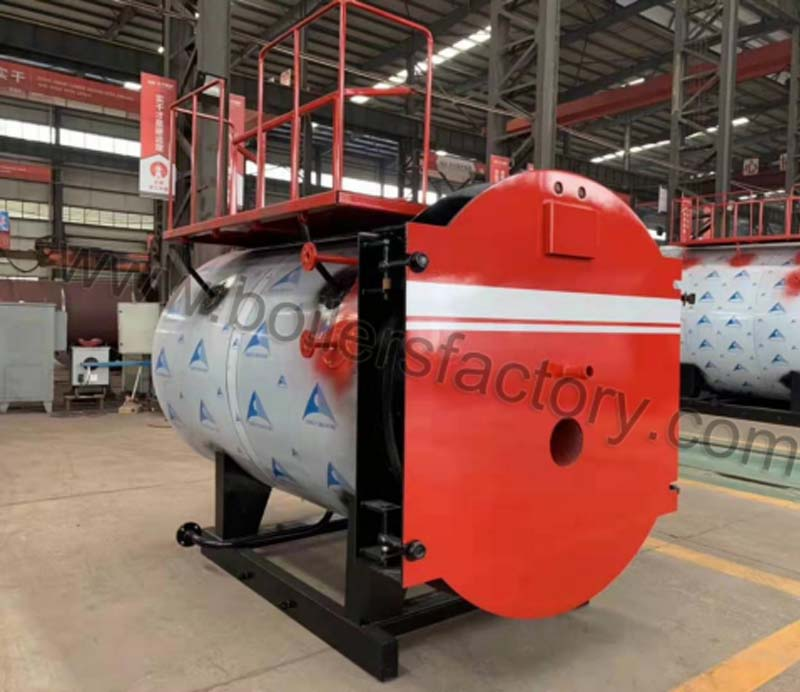 19.7.24- 0.5t/h diesel&gas fired boiler is ready for delivery
